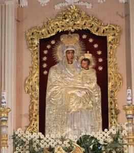 Mergelės Marijos su Kūdikiu (Marijos Šiluviškės) paveikslas